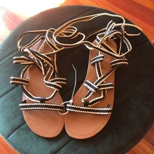 Top shop sandals sz 8